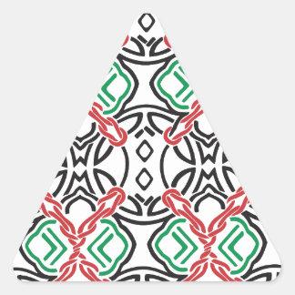 Adesivo Triangular Estampa celta nº 2