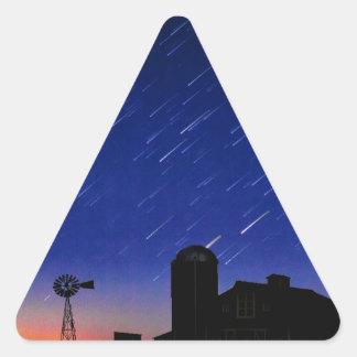 Adesivo Triangular Estrelas da fazenda