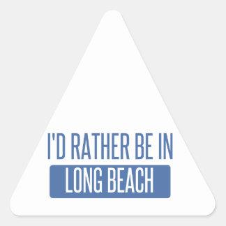 Adesivo Triangular Eu preferencialmente estaria em Long Beach CA