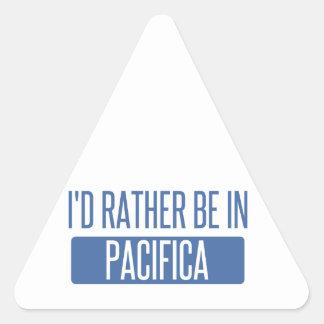 Adesivo Triangular Eu preferencialmente estaria em Pacifica