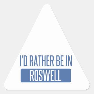 Adesivo Triangular Eu preferencialmente estaria em Roswell nanômetro