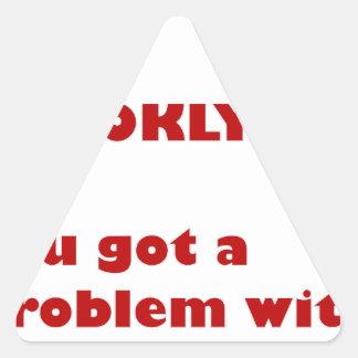 Adesivo Triangular Eu sou de Brooklyn