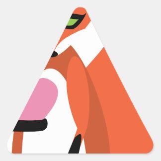 Adesivo Triangular Eu sou FOXated em VOCÊ