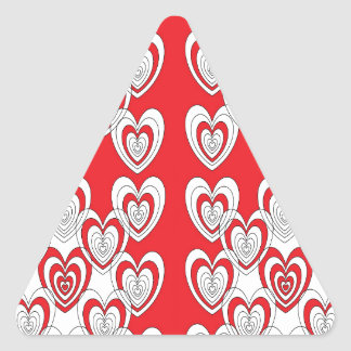 Adesivo Triangular Eu te amo mais