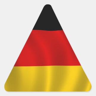 Adesivo Triangular Europeu alemão de Europa do símbolo da bandeira