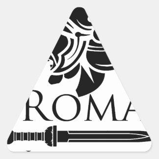 Adesivo Triangular Exército romano - Legionary com Gladio