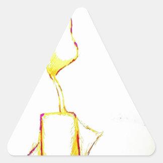 Adesivo Triangular Êxodo sereno