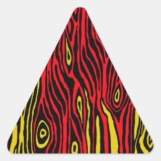 Adesivo Triangular Falso Bois do pop