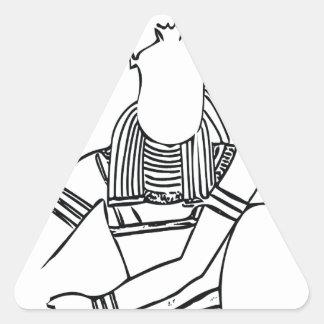 Adesivo Triangular Faraó 1 do escaravelho