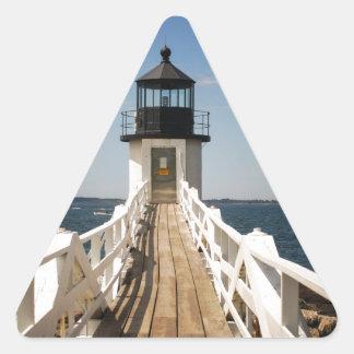 Adesivo Triangular Farol do ponto de Marshall