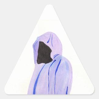 Adesivo Triangular Figura Cloaked