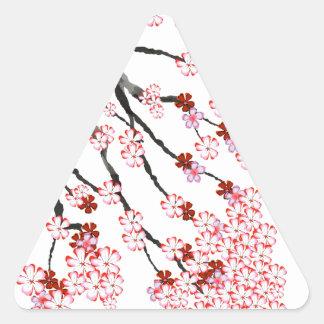 Adesivo Triangular Flor de cerejeira 18 Tony Fernandes