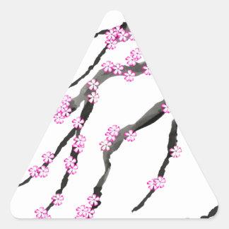 Adesivo Triangular Flor de cerejeira 20 de Sakura, Tony Fernandes