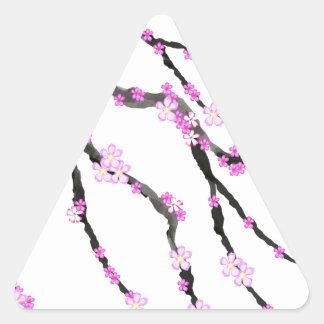 Adesivo Triangular Flor de cerejeira 22 de Sakura, Tony Fernandes