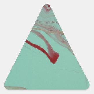 Adesivo Triangular Flutuação afastado
