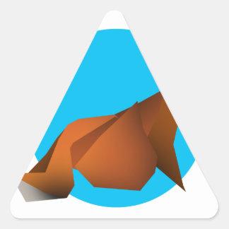 Adesivo Triangular Fox