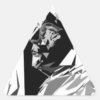 Adesivo Triangular François Mitterrand