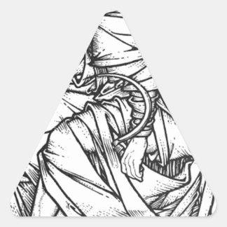 Adesivo Triangular Frey assentou no trono de Odin