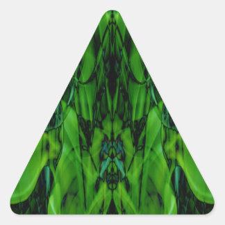 Adesivo Triangular Fumo estranho (11) .JPG