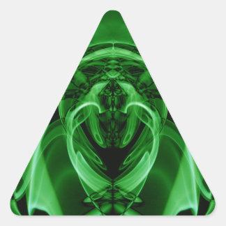 Adesivo Triangular Fumo estranho (23) .JPG