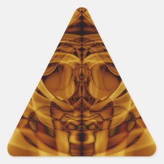 Adesivo Triangular Fumo estranho (43) .JPG