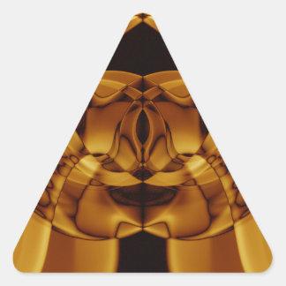Adesivo Triangular Fumo estranho (47) .JPG