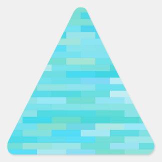 Adesivo Triangular Fundo do tijolo