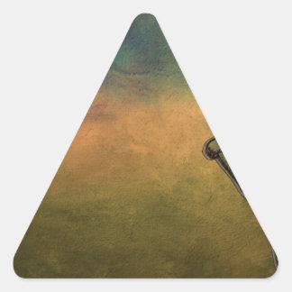 Adesivo Triangular Furacão