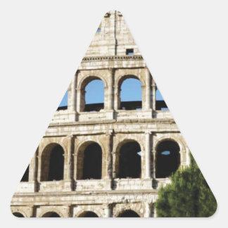 Adesivo Triangular furos e arcos