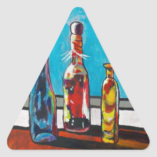 Adesivo Triangular Garrafas Sunlit