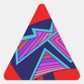 Adesivo Triangular Gato de Mimbres do sudoeste