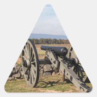 Adesivo Triangular Gettysburg: Uma ideia da carga de Pickett
