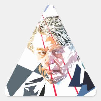Adesivo Triangular Gilbert Collard