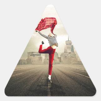 Adesivo Triangular girl-2940655_1920