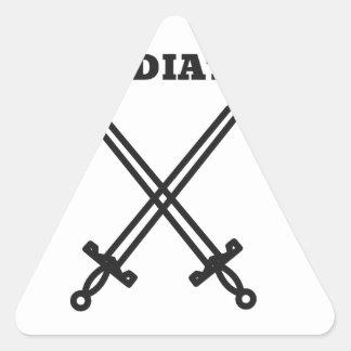 Adesivo Triangular Gladiador