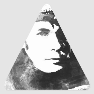 Adesivo Triangular Glenn Gould