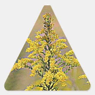 Adesivo Triangular Goldenrod de Nebraska