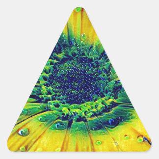 Adesivo Triangular Gotas criativas