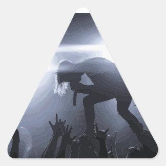 Adesivo Triangular Grite-o para fora!