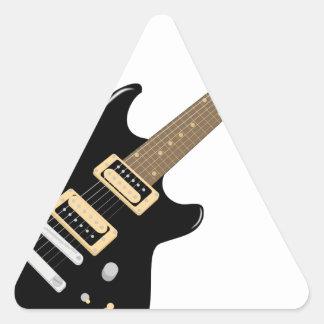 Adesivo Triangular Guitarra elétrica