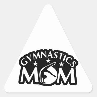 Adesivo Triangular Gymnastics_Mom