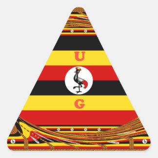 Adesivo Triangular Hakuna surpreendente bonito Matata Uganda bonito