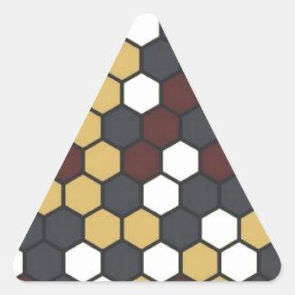 Adesivo Triangular Hexágono
