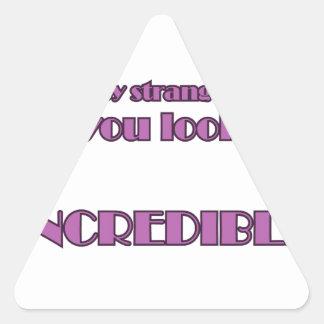 Adesivo Triangular Hey desconhecido