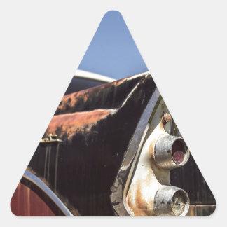 Adesivo Triangular Hot rod
