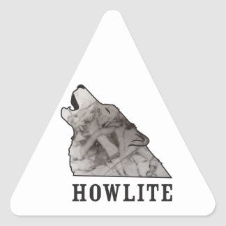 Adesivo Triangular howlite.ai