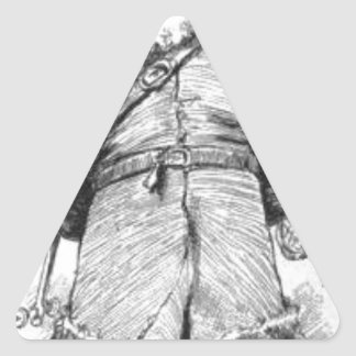 Adesivo Triangular I_Am_Santa_Claus