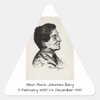Adesivo Triangular Icebergue de Albán Maria Johannes