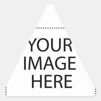 Adesivo Triangular Inteiramente customizável SUA IMAGEM AQUI