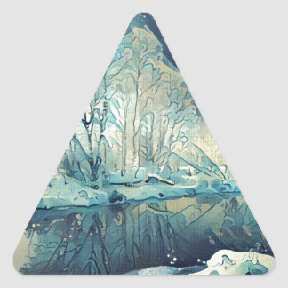 Adesivo Triangular Inverno